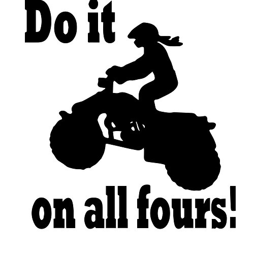 """T-shirt print... """"Do it on all 4s"""""""