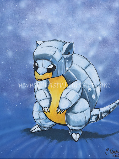 Sandshrew Painting