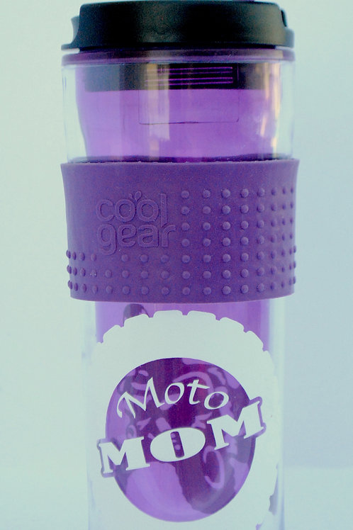 Moto Mom Hot/Cold insulated tumbler