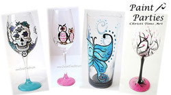 Wineglass Painting Party
