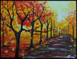 Autumn Walk by Christi Tims