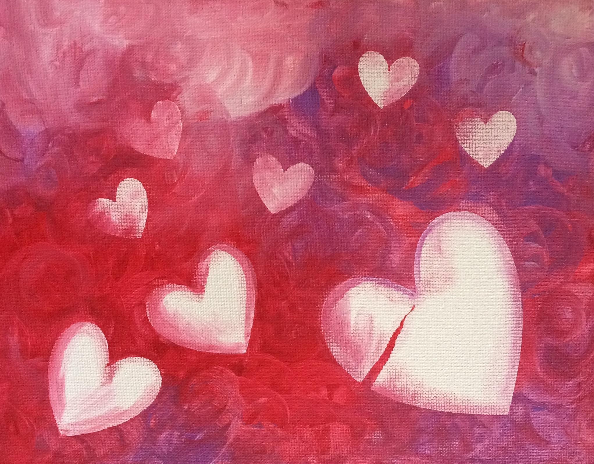 Shapes of Love by Christi Tims Art