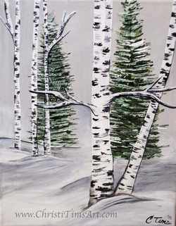Winter Calm Christi Tims Art
