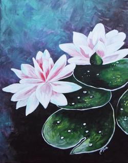 Zen Water Lilies Christi Tims