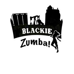 Blackie Zumba logo design
