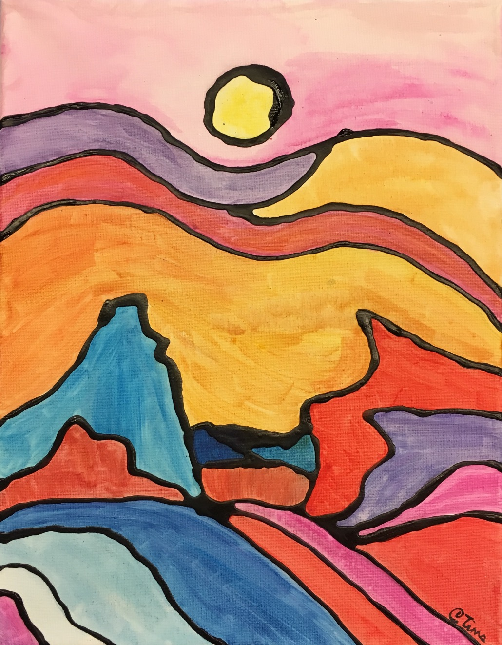 Ted Harrison inspired