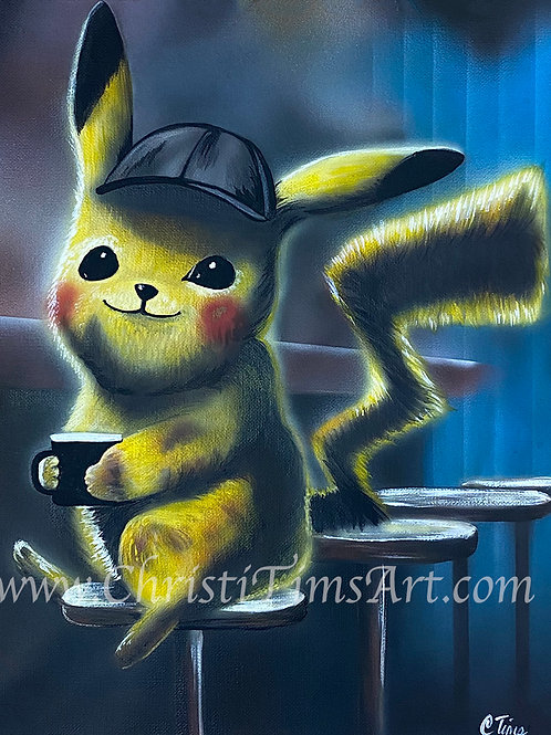 Detective Pikachu Prints