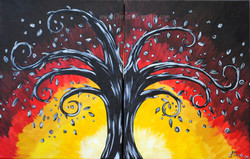 Together Tree partner painting