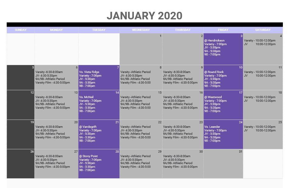 Practice Schedule Jan 2019.JPG