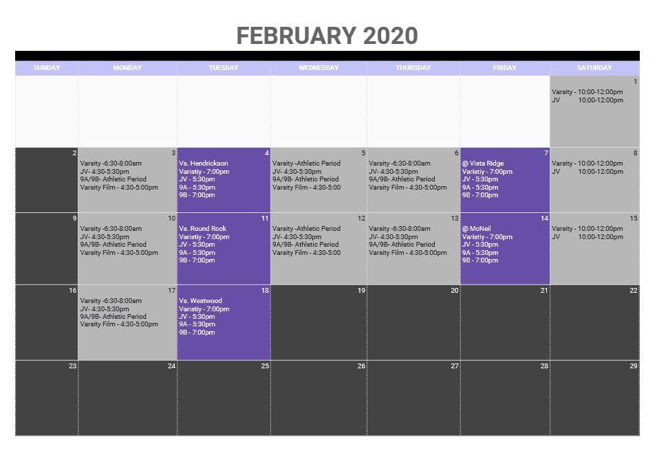 Practice Schedule Feb 2019.JPG