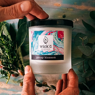 Wick'd_Wax_Botantics_Handpoured_Candles.
