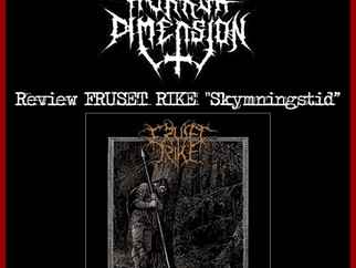 "Review of FRUSET RIKE ""Skymningstid"" in The Horror Dimension website."
