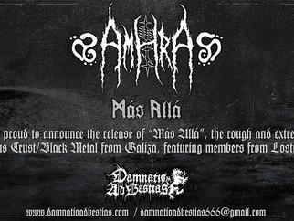 """AMHRA """"Más Allá""""... coming soon!"""