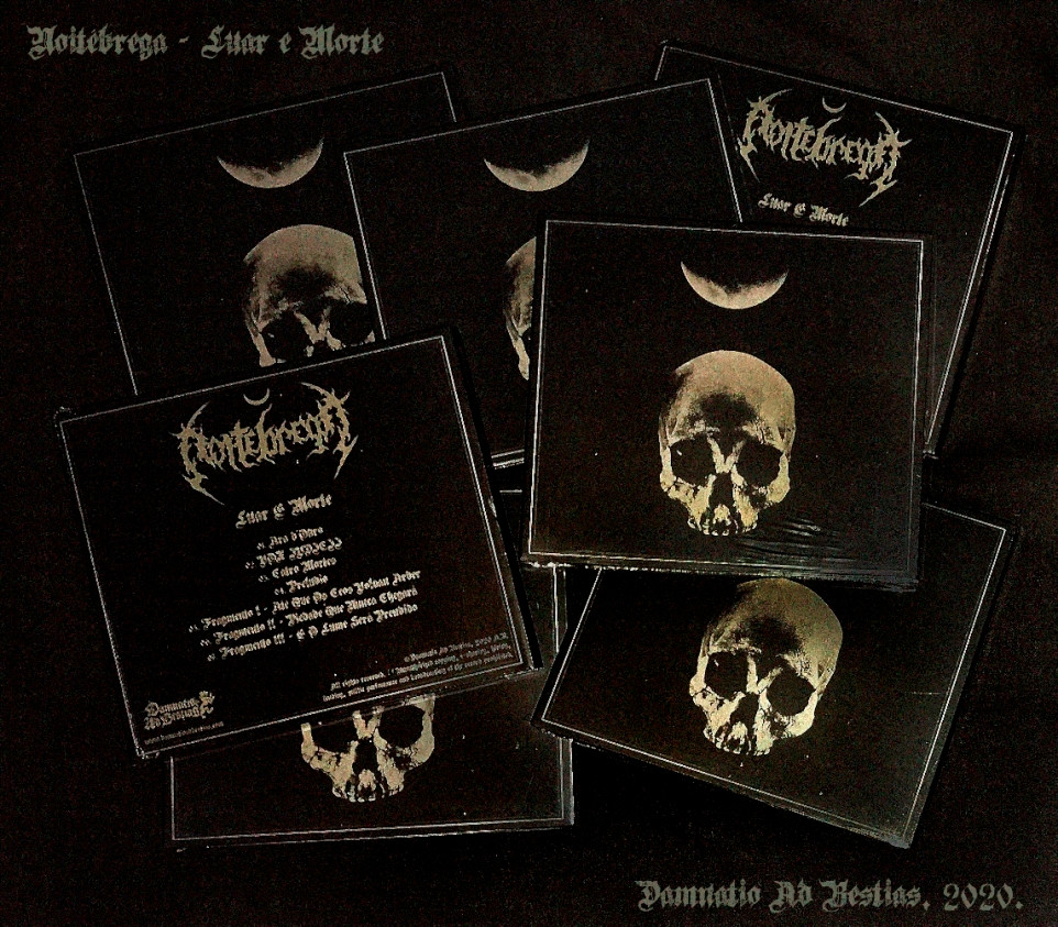 "Noitébrega ""Luar e Morte"" Digipak CDs"