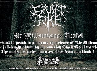 """FRUSET RIKE """"Ur Millenniernas Dunkel""""... coming soon!"""