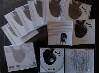 """Alene Misantropi """"Absence Of Light"""" CD's"""