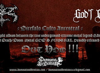 "Hadez / God's Funeral ""Bicéfalo Culto Ancestral""... Out now!!!"