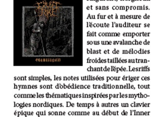 "Review of FRUSET RIKE ""Skymningstid"" - Hymnes & Sacrifices zine #1"