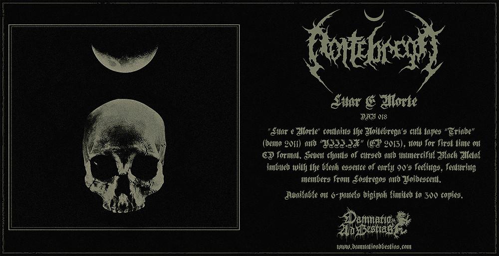 Noitébrega - Luar e Morte (flyer)