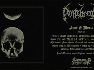 "NOITÉBREGA ""Luar e Morte""... out on June 21st, 2020!"