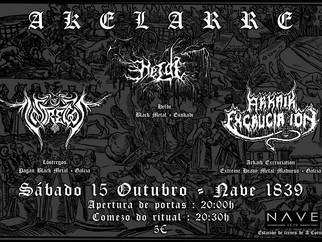 AKELARRE Fest, Helde + Lóstregos + Arkaik Excruciation