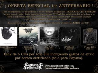 Oferta 1er Aniversario