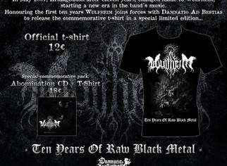 WULFHEIM, Ten years of Raw Black Metal