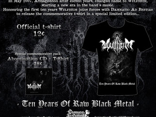 WULFHEIM, Ten years of Raw Black Metal