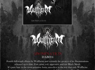 """WULFHEIM """"Abomination"""" (DAB004)"""