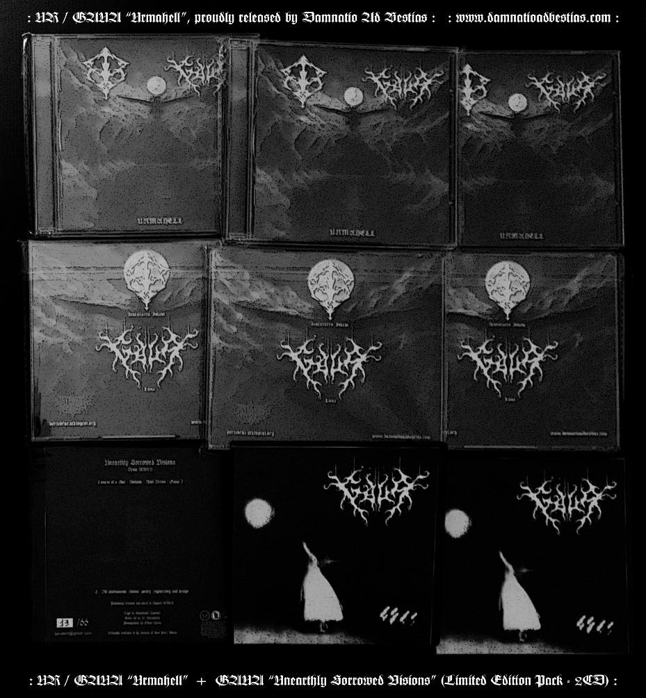 """Ur / Gaua """"Urmahell"""" - CDs"""