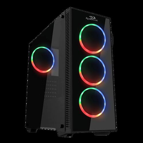 Chasis Redragon Sideswipe Pro GC-601 Vidrio Templado (4 FAN)
