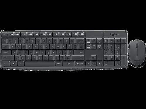 Combo Teclado + Mouse Logitech MK235 (Inalámbrico)