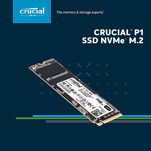 Disco Solido Ssd Crucial P1 500gb 3d Nand Nvme Pcie M.2