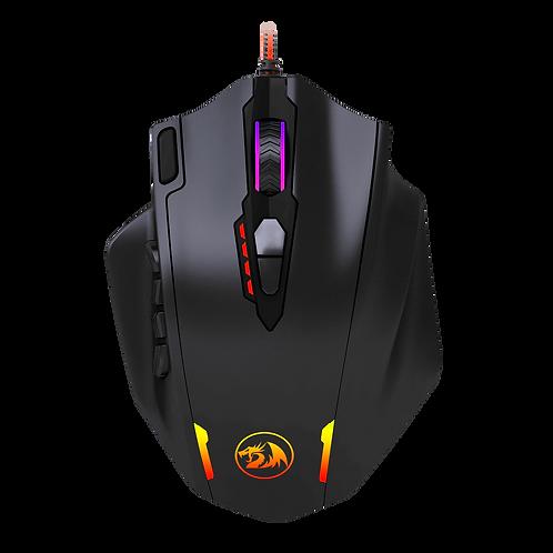 Mouse Gamer Redragon Impact M908 RGB (12.400 DPI)