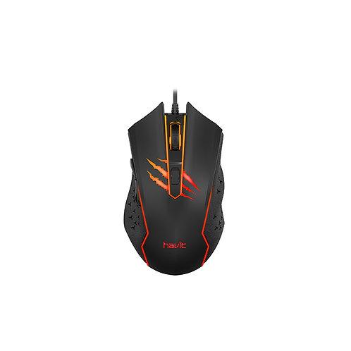 Mouse Gamer Havit MS1027 (2.400 DPI)