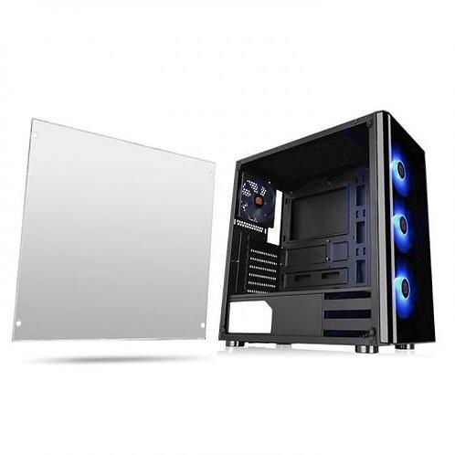 Chasis Thermaltake V200 RGB + Fuente 600W 80+ White