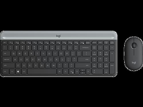 Combo Teclado + Mouse Logitech MK470 (Inalámbrico)