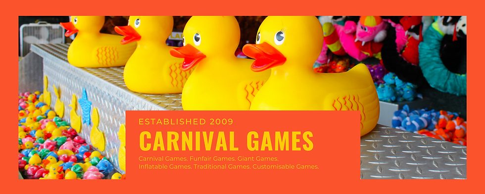 Carnival game stall rental