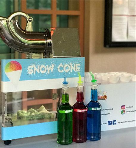 snow cone live station rental