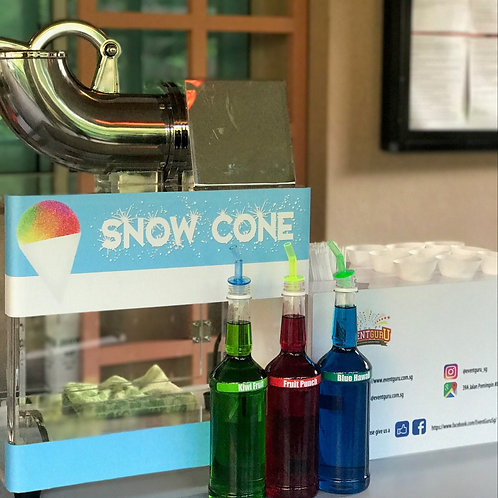 snow cone live station rental