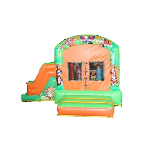 Safari Island bouncy castl