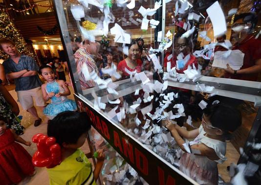 cash grabbing machine singapore