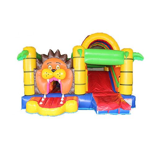 Lion bounce house