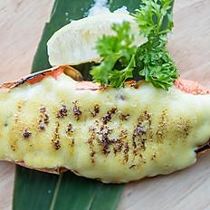 Wasabi mayo grilled prawn