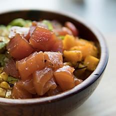 Tuna poke salad