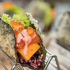Salmon Mentai Taco