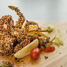 Soft shell crab with Japanese seasoning