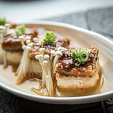 Unagi age dashi tofu