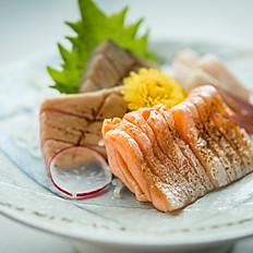 Aburi sashimi (3 kinds)