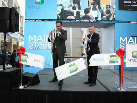 RECORD BREAKER: IMTS 2018 LARGEST SHOW EVER